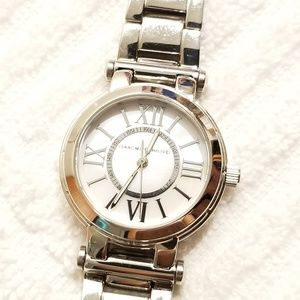 Issac Mizrahi Mother of Pearl Dial Watch